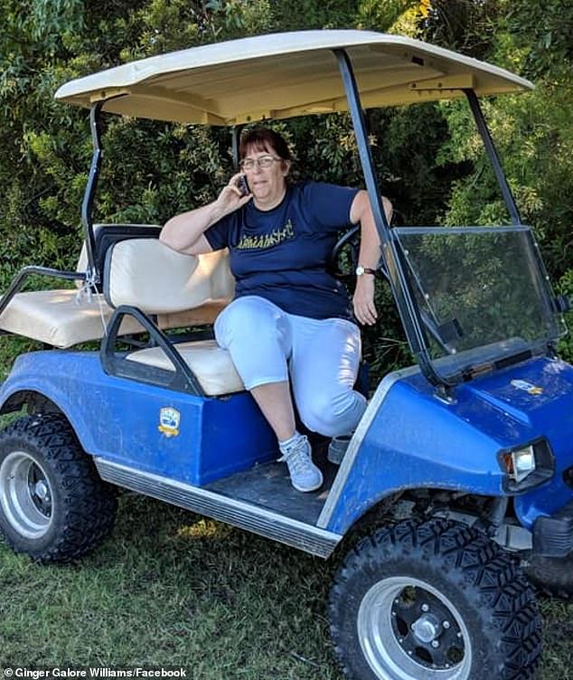 golf cart Gail