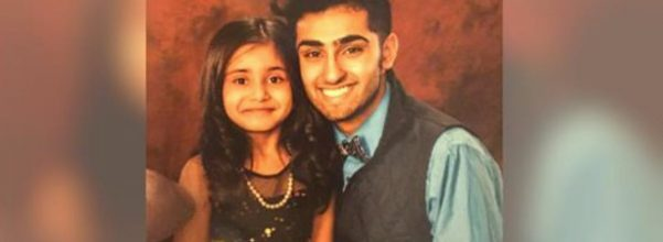 teen takes sister father-daughter dance