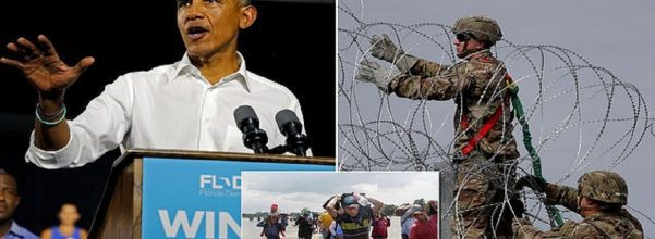 Obama blasts Trumps military deployment