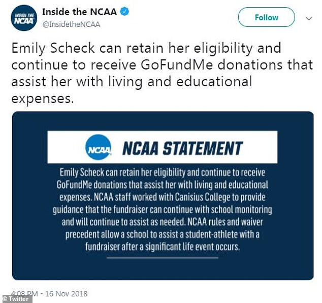 disowned gay athlete gofundme
