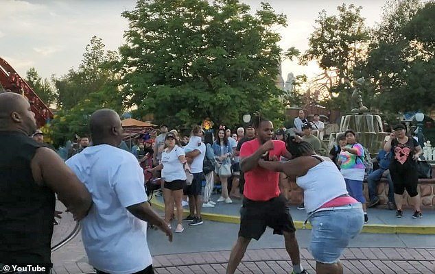 disneyland family fight faces charges